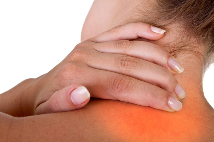 neck pain requiring Trigger Point Therapy Massage